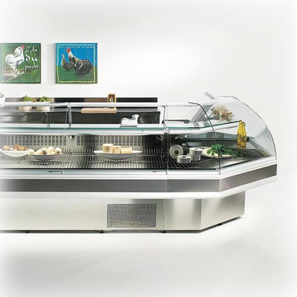 Βιτρίνα Αλλαντικών 105cm SUPER LIDER με ψυχ αποθ (με μοτέρ)