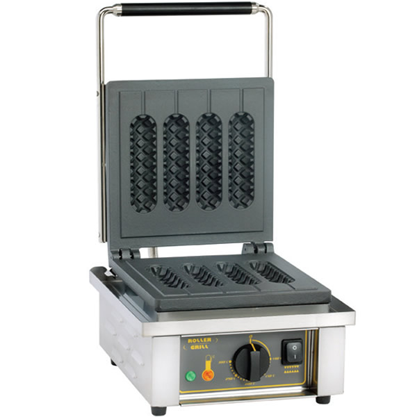 Συσκευή για κυλινδρικές βάφλες σε ξυλάκι GES 80 ROLLER GRILL