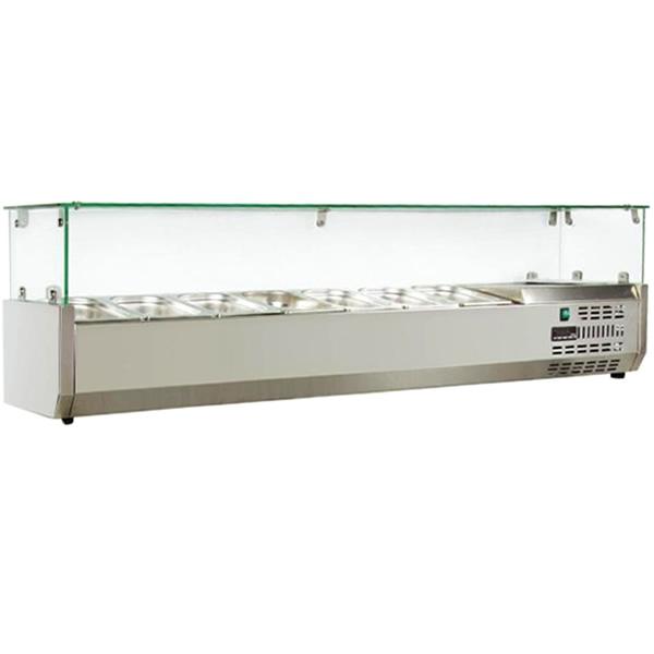 Ψυγείο σαλατών setup 7 GN1/4 SA PI 157T NIKI