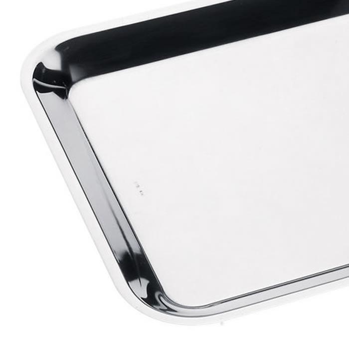 Δίσκος βιτρίνας inox 18/8 500x350x20mm κρεοπωλείων 141 Lonatini