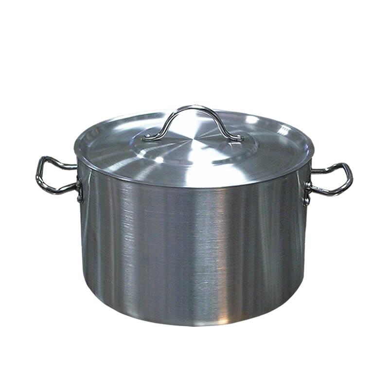 Χύτρα αλουμινίου βαθιά 17lt 30x24cm με καπάκι