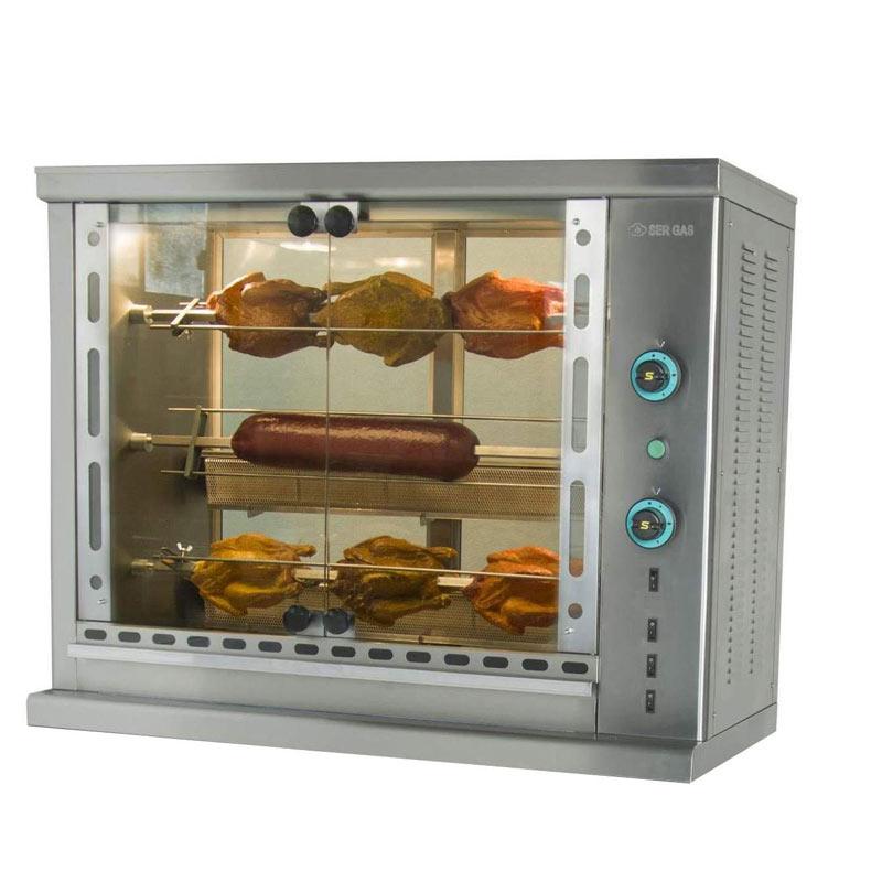 Κοτοπουλιέρα αερίου με 3 σούβλες SG3 SERGAS