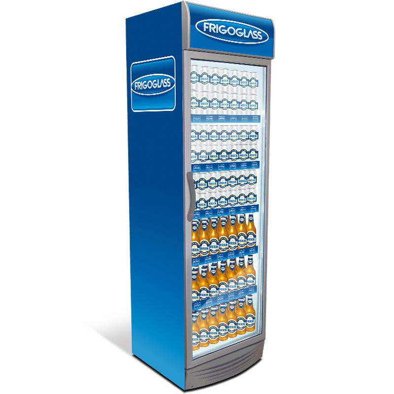 Ψυγείο βιτρίνα 355lt CMV 375 Frigoglass