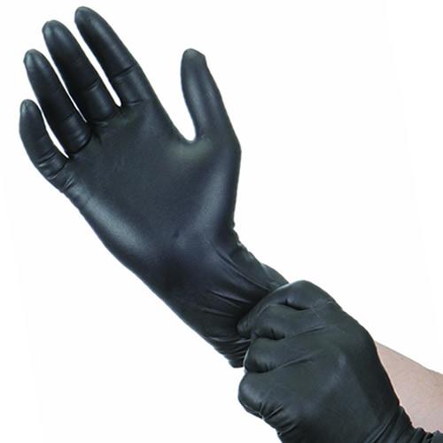 Γάντια Latex Χωρίς Τάλκ μαύρα SOFT TOUCH S