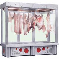Ψυγείο βιτρίνα Κρεάτων 162cm με Τσιγκέλια Bgdc 165