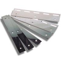 Λαμάκια INOX 20cm για Λωρίδες PVC (ΣΕΤ)