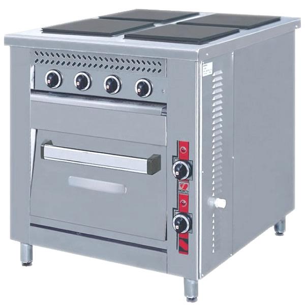 Κουζίνα ηλεκτρική 4 εστίες φούρνο F80E4 S90 North
