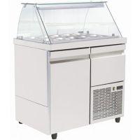 Ψυγείο σαλατών 89cm για 10 Λεκανάκια SA GN 089M NIKI